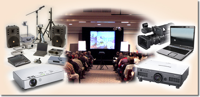 Audio Visual Equipment Hire Melbourne